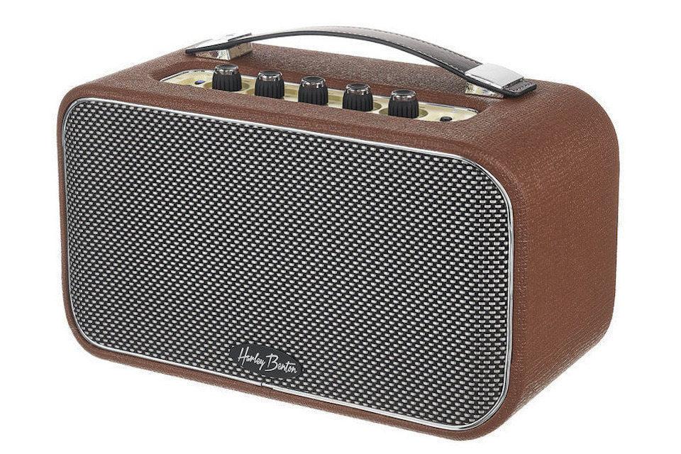Мини-комбик Harley Benton TableAmp V2: гитара, укулеле, вокал и музыка по Bluetooth