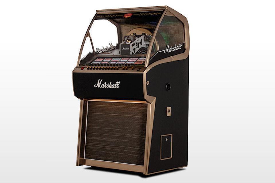 Marshall Jukebox: классический музыкальный автомат на 70 пластинок в фирменном стиле ламповых гитарных усилителей