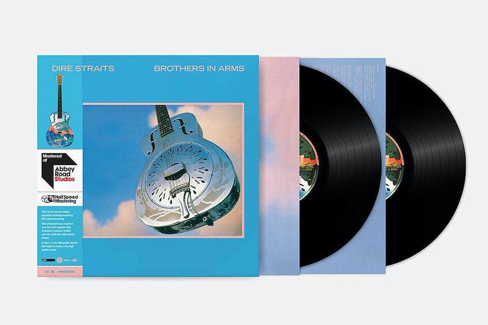 Альбом Dire Straits «Brothers In Arms» и саундтрек к фильму «Местный герой» выйдут на двойном виниле 45 об/мин
