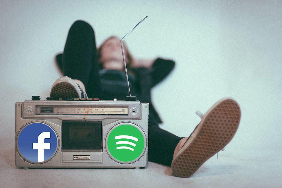 Facebook и Spotify запустят плеер Project Boombox