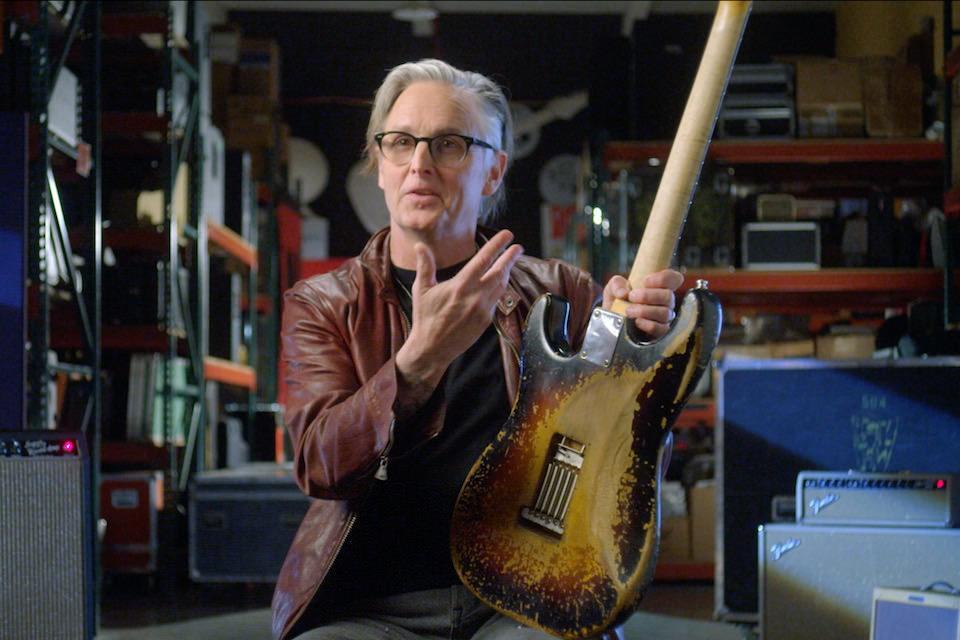 Fender выпустила точную реплику винтажного стратокастера гитариста Pearl Jam Майка Маккриди