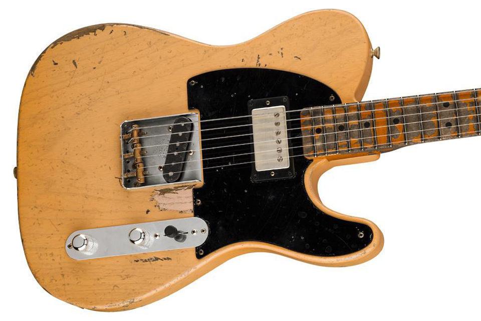 Fender и Джо Бонамасса выпустят 100 уникальных подписных гитар Fender Nocaster на базе оригинальной модели 1951 года