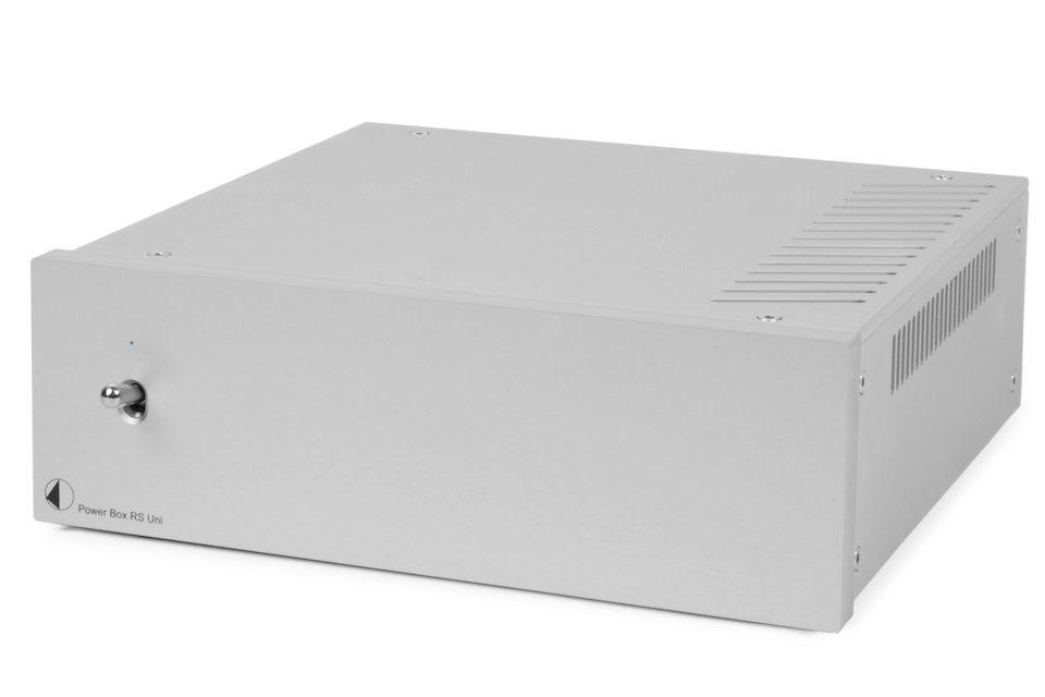 Блок питания Pro-Ject RS Uni 1-Way TT: линейный источник 15 В для вертушек с тяжелыми дисками