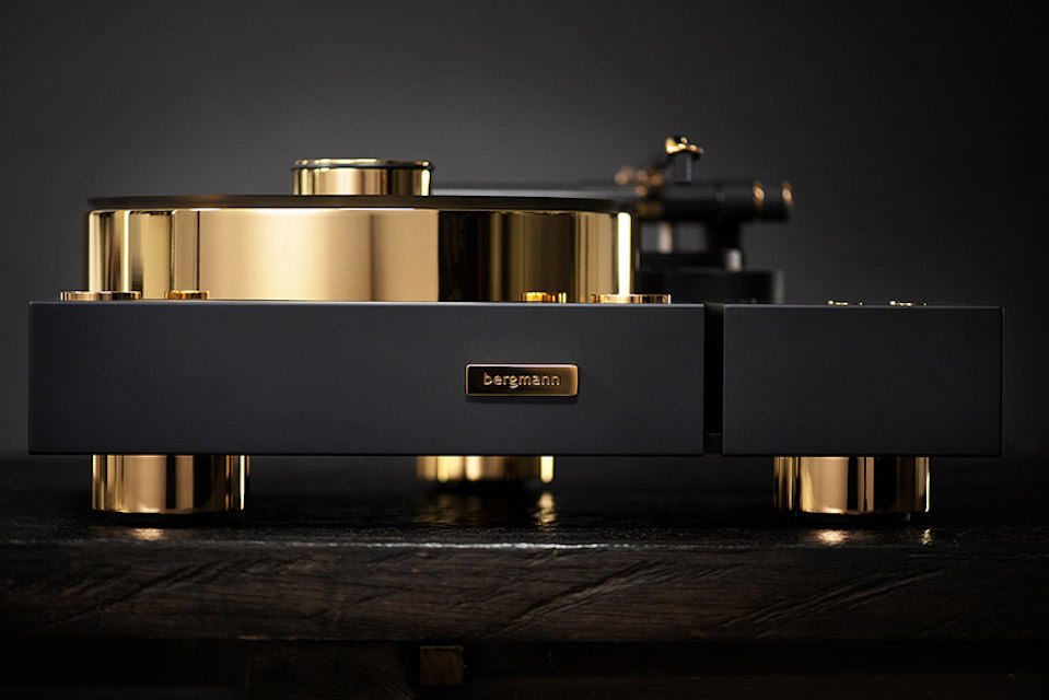 Проигрыватель винила Bergmann Audio Galder & Odin Gold Edition: два ведущих продукта бренда в 24-каратной позолоте