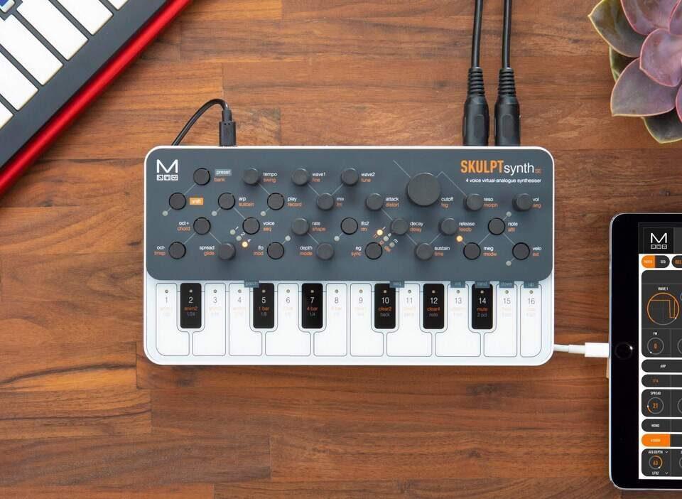 Синтезатор Modal Electronics SkulptSynth SE: четырехголосный инструмент с улучшенной эргономикой