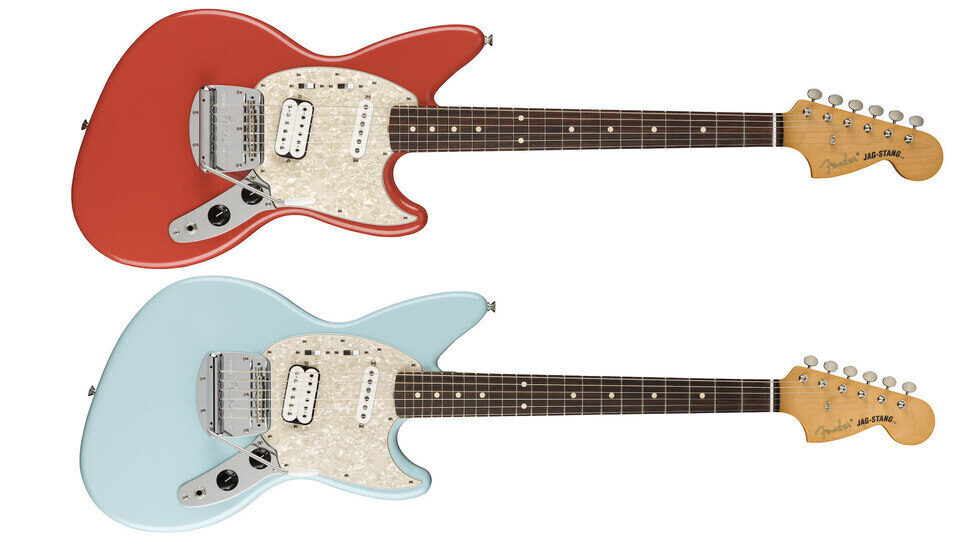 Fender перевыпустила придуманную Куртом Кобейном электрогитару Jag-Stang
