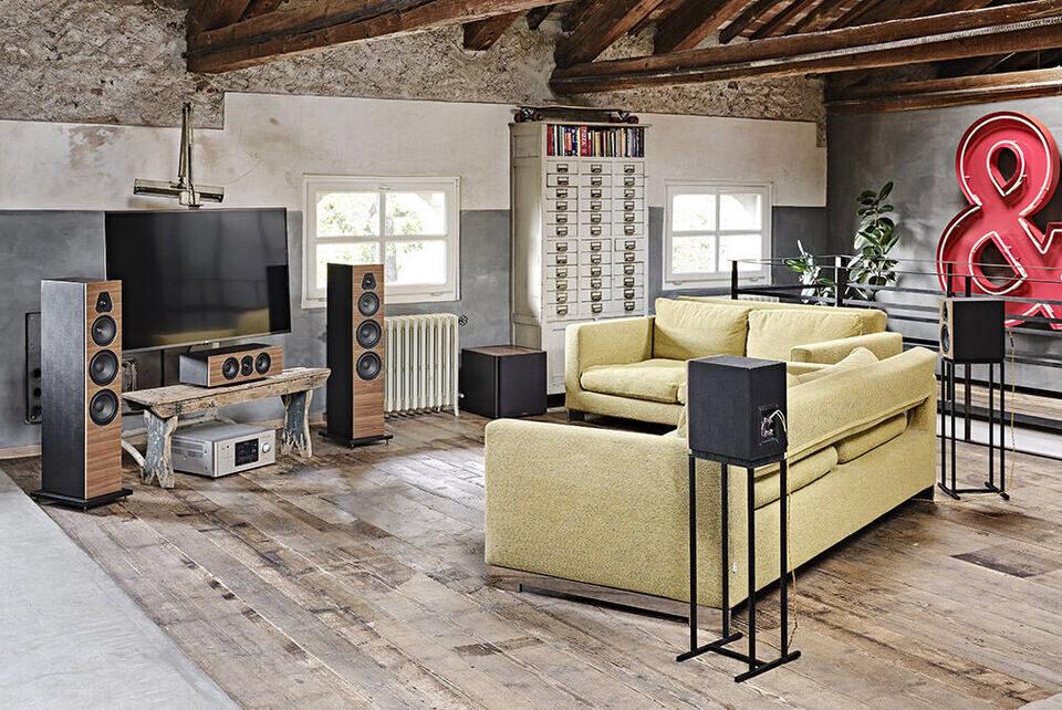 Серия акустики Sonus Faber Lumina пополнилась моделями II и V