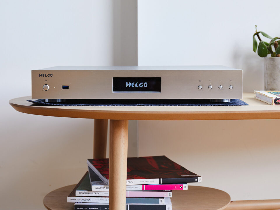 Аудиофильский стример-хранилище Melco N50-S38: накопитель SSD на 3,84 ТБ и сертификат Roon Ready