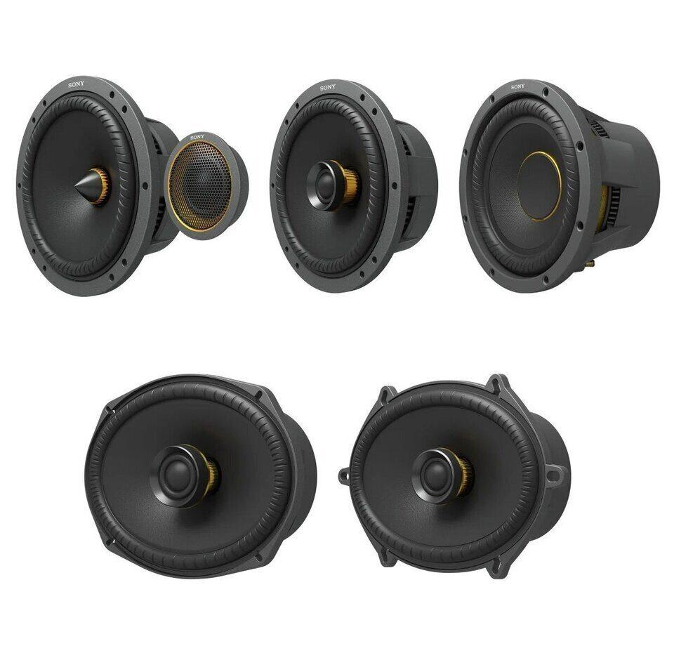 Автомобильная акустика Sony Mobile ES: диффузоры MRC и подвесы Progressive Height Rate