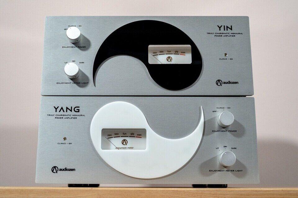 Audiozen представила моноусилители Yin и Yang с «измерителями удовольствия»
