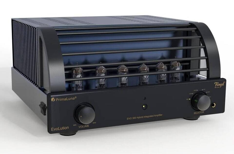 Интегральник PrimaLuna EVO 300 Hybrid: шесть ламп 12AU7 и транзисторный оконечник