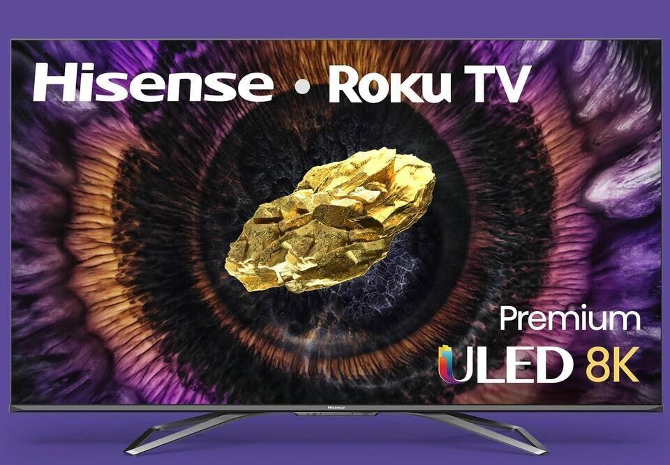 Hisense выпустила свой первый 8К-телевизор и 4К-модель с двойной панелью