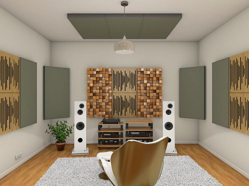 Vicoustic Vic Audiophile VMT Kit: готовый набор панелей для улучшения акустики помещения
