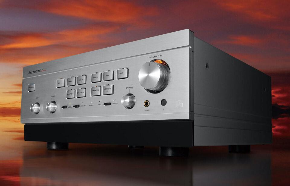 Интегральный усилитель Luxman L-595A Special Edition: А-класс с обратной связью ODNF-u и аттенюатором LECUA1000