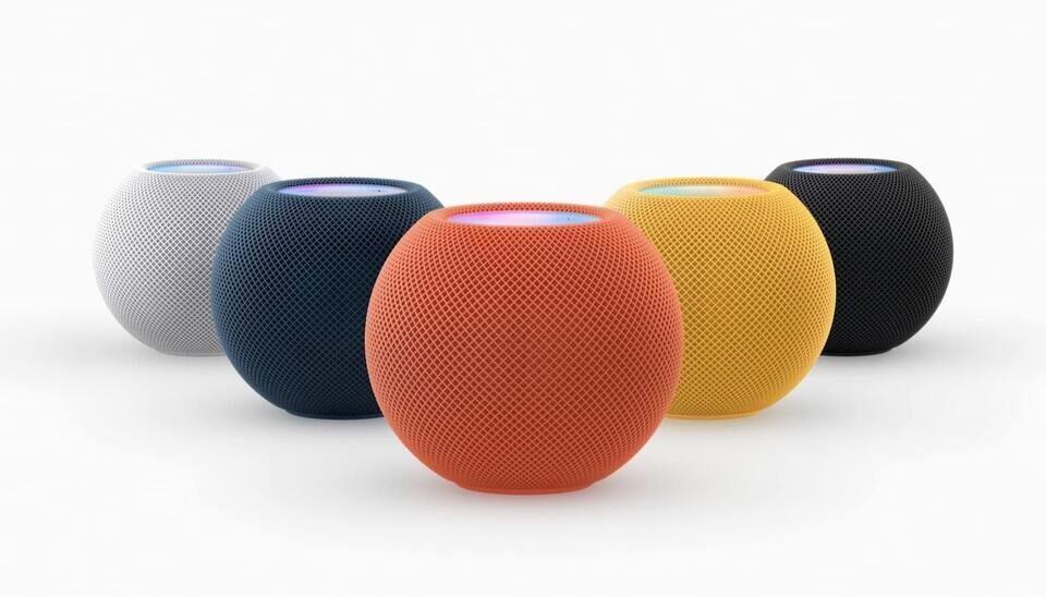 Колонки Apple HomePod Mini станут доступны в синем, красном и оранжевом цветах