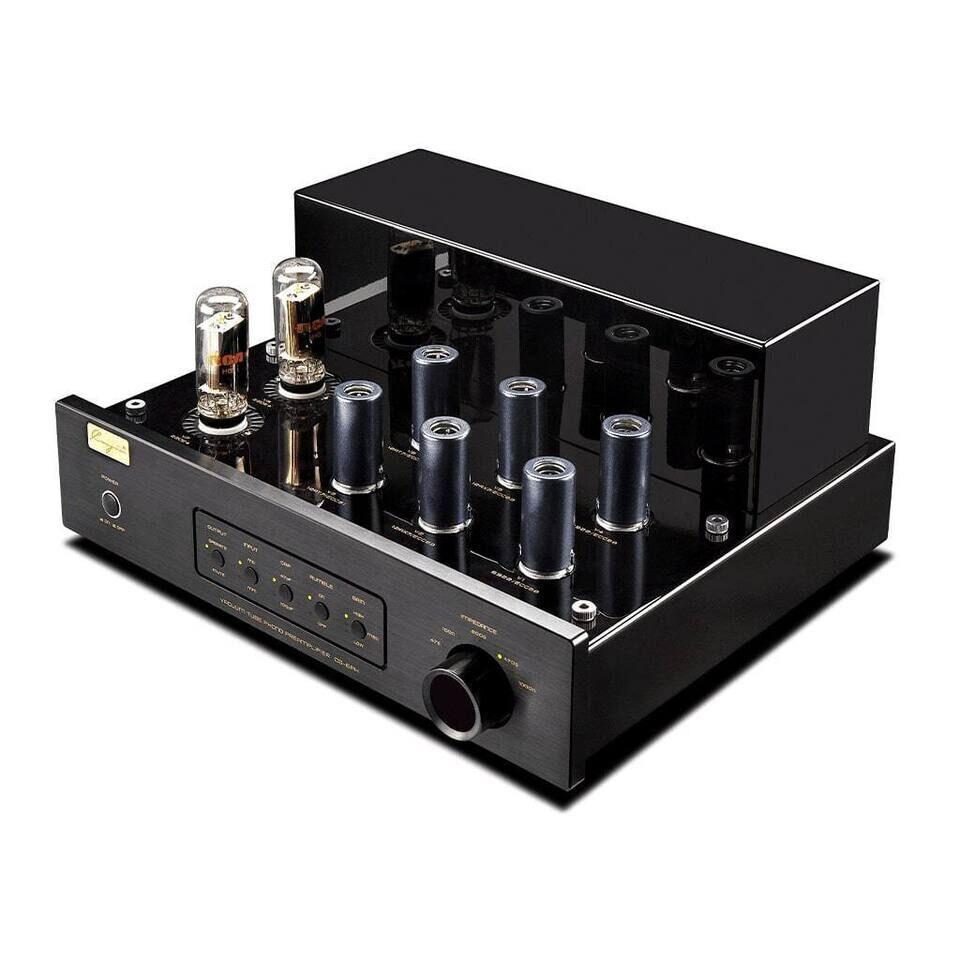 Фонокорректор Cayin CS-6PH: параллельно работающие MM- и MC-схемы на лампах 6922 и ECC83