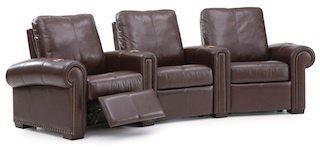 Palliser Balance: кресла в стиле барокко для кинотеатра? Да пожалуйста!