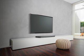 LG SoundPlate LAP340: плоская подставка под плоский телевизор