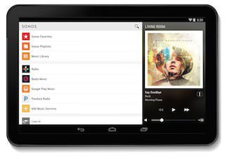 Sonos обновила приложение Controller App