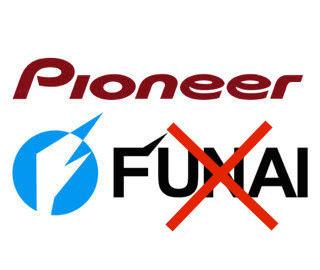 Pioneer опровергает продажу своего AV-отделения компании Funai