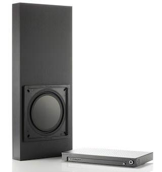 Сабвуфер Monitor Audio IWS-10: 90 миллиметров глубины