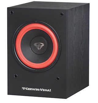 Cerwin-Vega SL-10S: крепкие 150 Вт