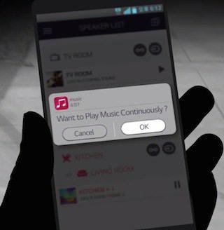 LG Music Flow Player: поговори со своими колонками