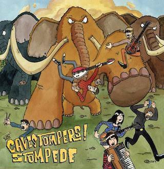 The Cavestompers! отметит выход третьего альбома на виниле концертом в московском клубе «Солянка»