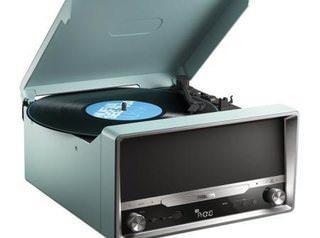 Проигрыватель виниловых пластинок Philips OTT2000: и колонки в придачу