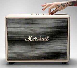 Marshall Woburn: беспроводная акустика в дизайне комбоусилителя
