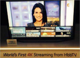 Французское телевидение планирует начать 4K-трансляции через HbbTV
