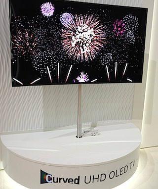 Samsung показала прототип 4K OLED-телевизора