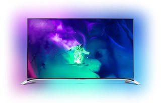 Philips анонсировала свой первый вогнутый 4K-телевизор