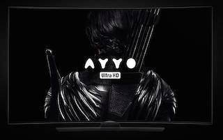 Сервис потокового видео «Аййо» первым в России начал продавать 4К-фильмы