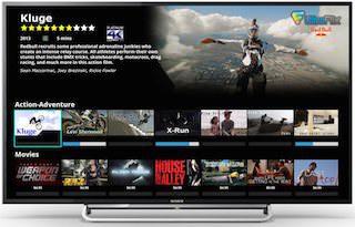 Ultra-HD-телевизоры Sony обзаведутся сервисом UltraFlix 4K