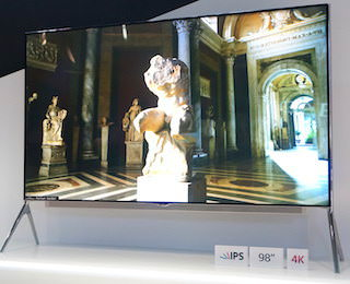 4К-телевизоры в следующем году обзаведутся новыми панелями и станут дешевле
