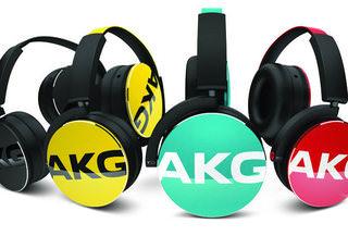 AKG представила полноразмерные наушники Y-серии