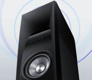 Samsung выпустил напольную активную акустику Sound Tower TW-H5500