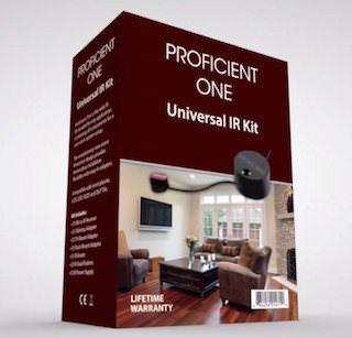 ИК-повторители Proficient One Universal IR Kit: управление компонентами вне зоны действия пульта ДУ