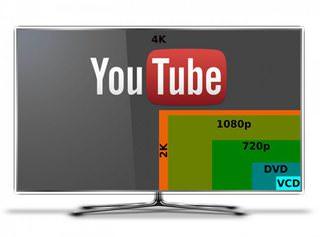 Google планирует использовать для 4К-видео на YouTube кодек VP9