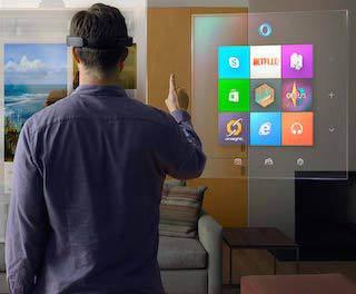 Microsoft представила очки дополненной реальности HoloLens