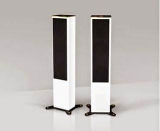 Goldmund Logos Tower: беспроводная акустика из металла