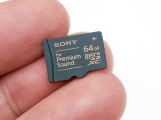 Sony выпустила microSD-карту для аудиофилов