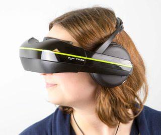 Vuzix IWear 720: VR-шлем с наушниками