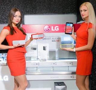 Компания LG показала новую линейку телевизоров и аудиосистем 2015 года
