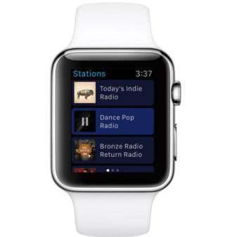 Сервис Pandora станет доступен на часах Apple Watch с момента их запуска