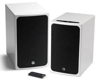 В России стали доступны колонки Q Acoustics BT3 в красной и белой отделках