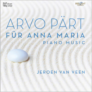 Лейбл Brilliant Classics выпустил пластинку сочинений Arvo Part в исполнении Jeroen van Veen