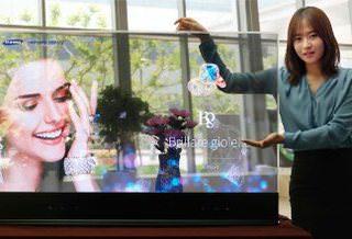 Samsung показала прозрачный и зеркальный OLED-дисплеи