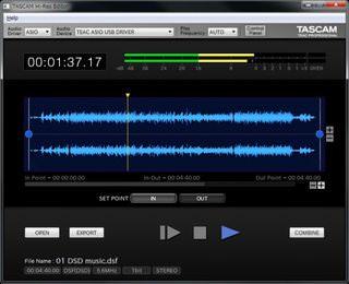 Tascam выпустила бесплатный аудиоредактор «Hi-Res Editor» с поддержкой DSD до 11,2 MГц